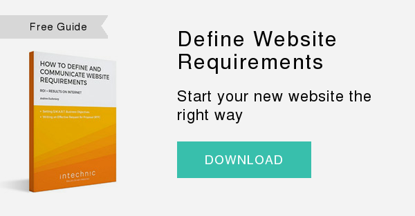 Free Whitepaper   Define Website Requirements  Start your new website the right way  DOWNLOAD