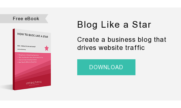 Free eBook   Blog Like a Star  Create a business blog that drives website traffic  DOWNLOAD