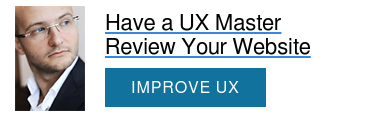Have a UX Master Review Your Website  IMPROVE UX