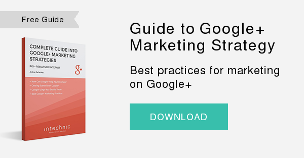 Free Guide   Guide to Google+ Marketing Strategy   Best practices for marketing on Google+  DOWNLOAD