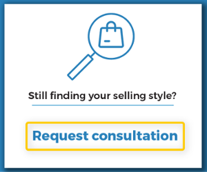 still finding your selling style?