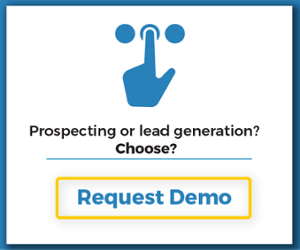 Prospecting or lead generation?