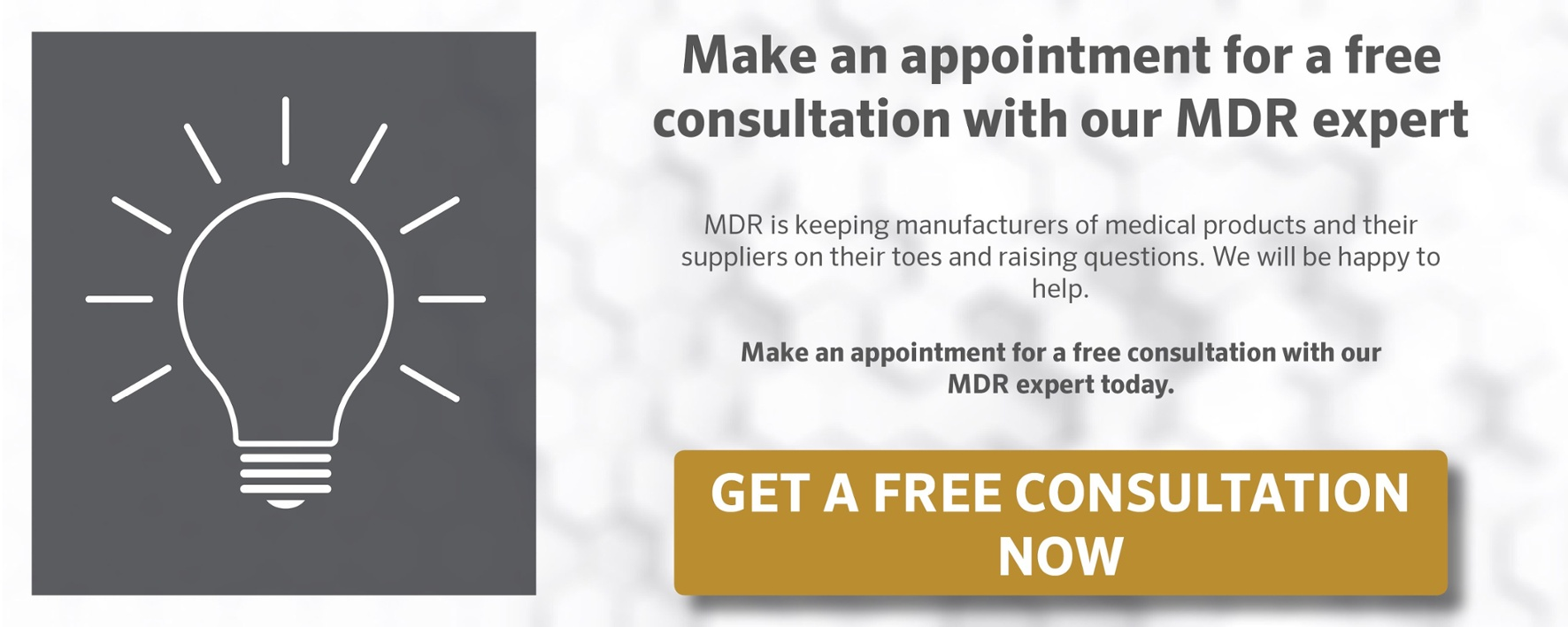 Free MDR Consultation