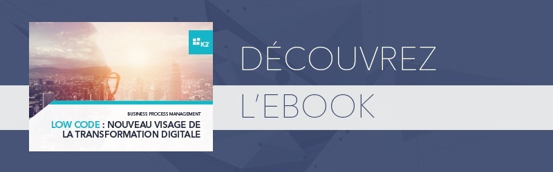 Ebook Low code nouveau visage de la transformation digitale