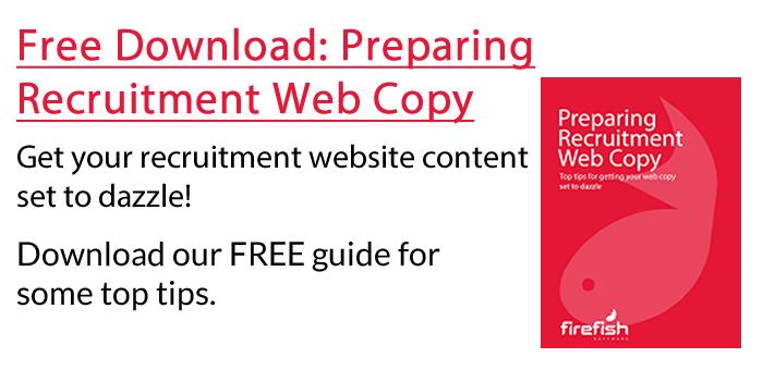 Preparing Recruitment Web Copy