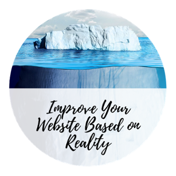 How to improve your website based on what's really going on