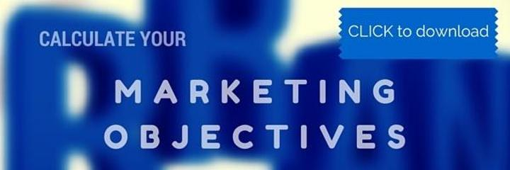 Marketing objectives ROI calculator