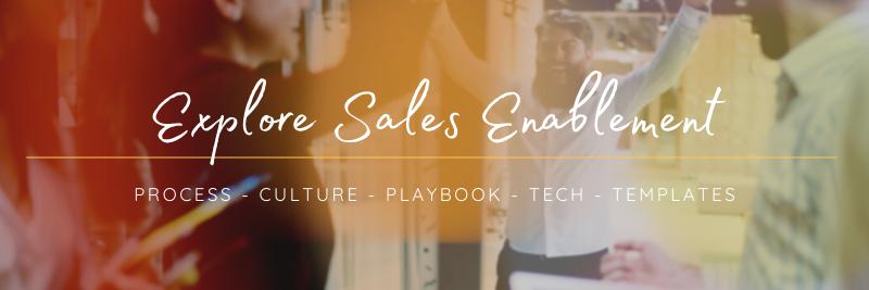 Sales enablement services