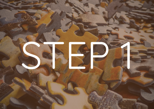 Step 1 - build your sales infrastructure