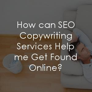 How can SEO copywriting services help me get found?