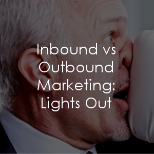 Inbound vs outbound - side by side knockout comparison
