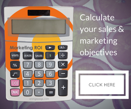 Calculate your projected marketing ROI