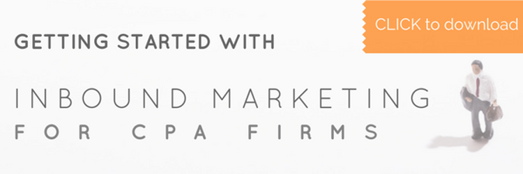 Download this free guide to getting started with inbound marketing for your CPA firm!
