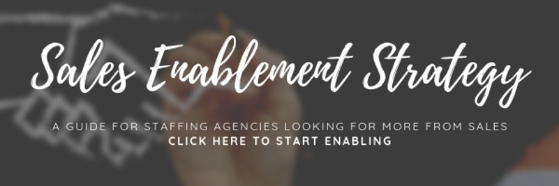 Sales enablement strategy guide for staffing agencies