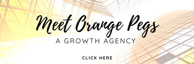 Growth Agency - Orange pegs