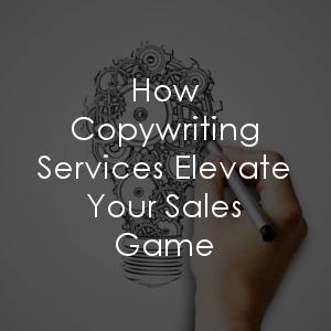 How can copywriting services elevate my sales game?