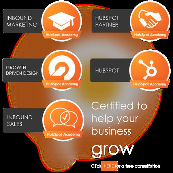 Orange Pegs Media is Inbound Marketing, Inbound Sales, Growth Drive Design, Hubspot, and Hubspot Partner certified! How can we help?