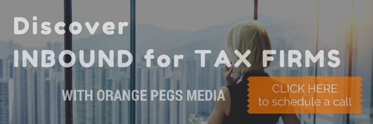 Looking for new and innovative ways to grow your CPA firm? Check out inbound marketing by Orange Pegs Media!