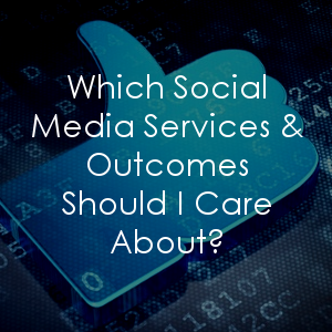 Do you know which social media services are right for your business? Let's explore them and discuss the outcomes you should expect.