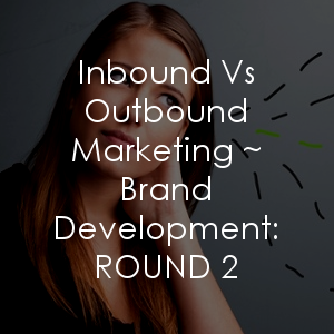 Here's another grip of reasons why inbound vs outbound marketing is desirable for your branding efforts