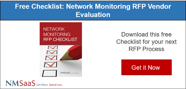 Free Checklist: Network Monitoring RFP Vendor Evaluation