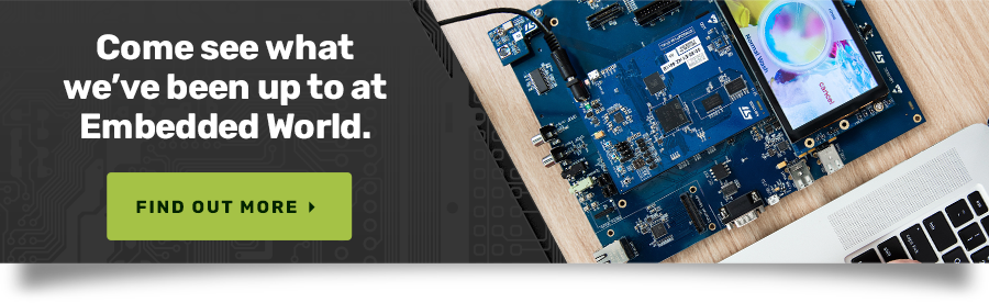 Crank Software will be at Embedded World 2020 Come see what we've been up to.