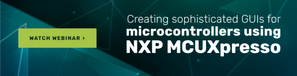 NXP MCUXpresso and Crank Storyboard webinar call to action