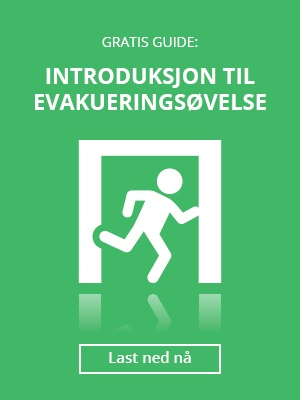 Last ned gratis guide: Introduksjon til evakueringsøvelser