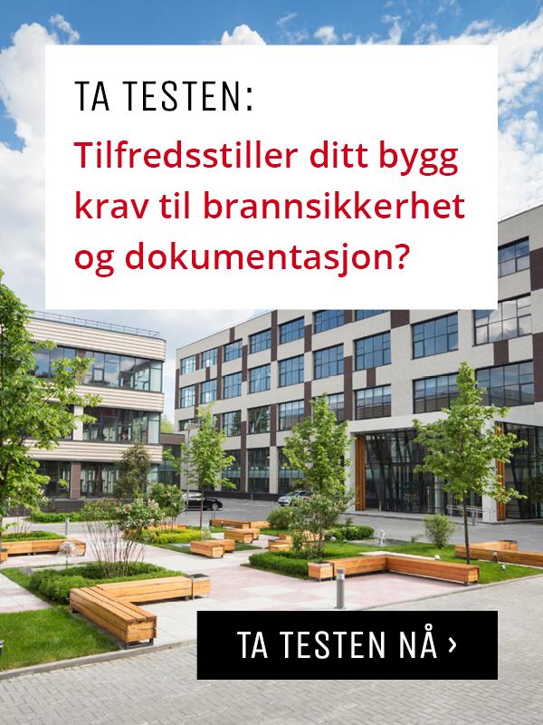 Ta testen: tilfredsstiller ditt bygg krav til brannsikkerhet og dokumentasjon?