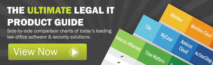 View The Ultimate Legal IT Product Comparison Guide