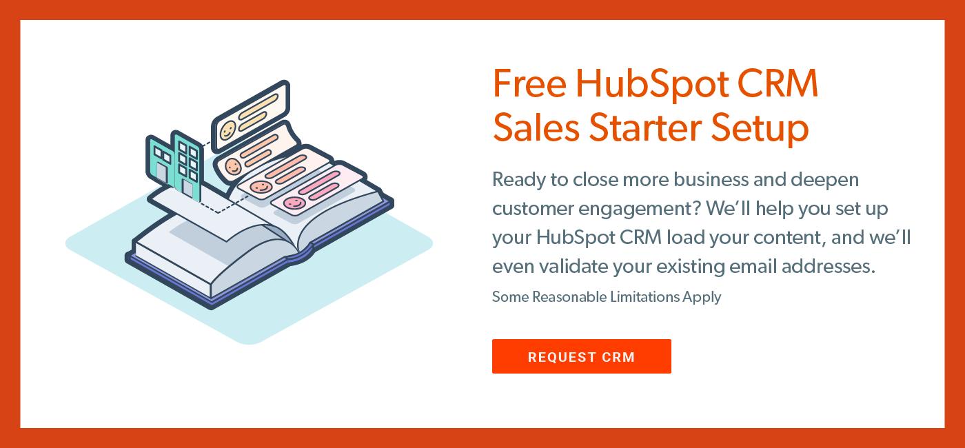 Free HubSpot CRM Setup