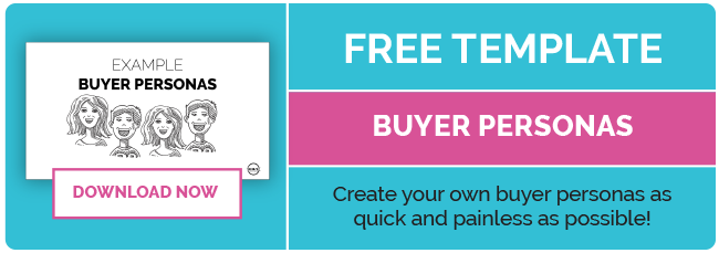 Free Buyer Personas Template Download from THINK creative