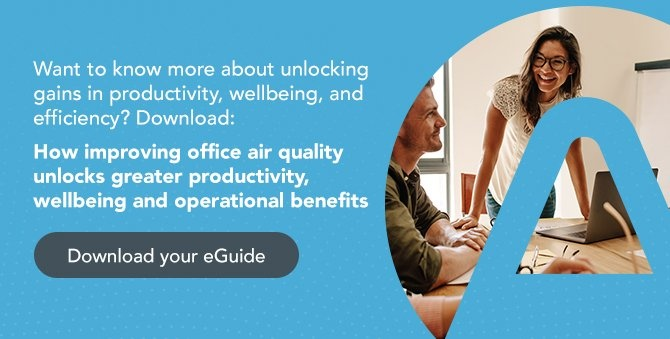 How improving office air quality unlocks greater productivity, wellbeing and operational benefits