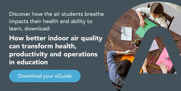 Download your eGuide, how better indoor air quality can transform health, productivity and operations in education