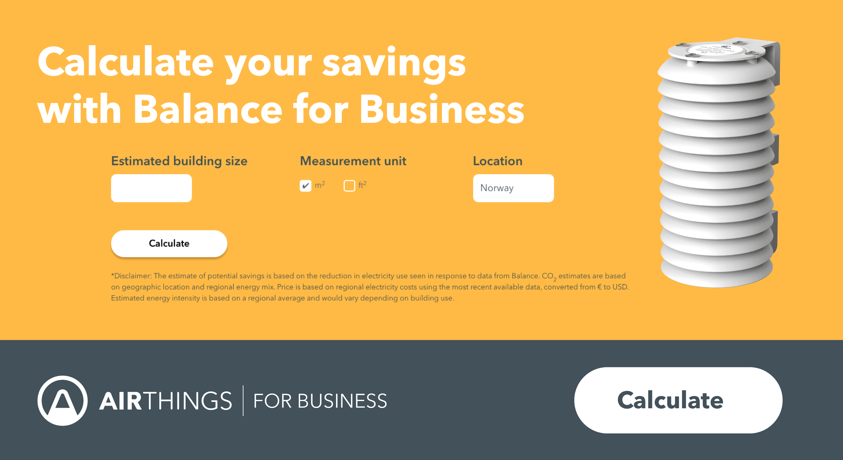 Balance for Business Calculator