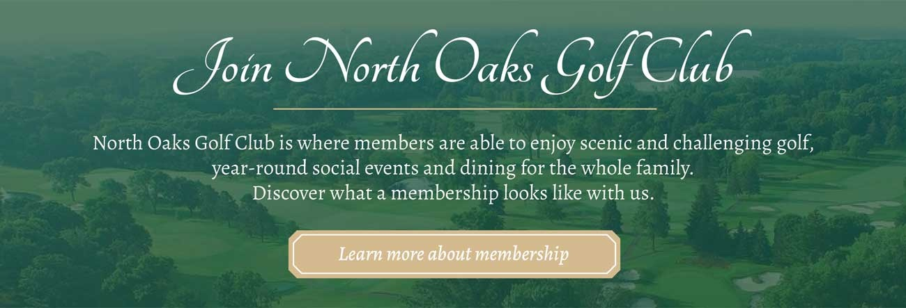 North Oaks Golf Course Membership