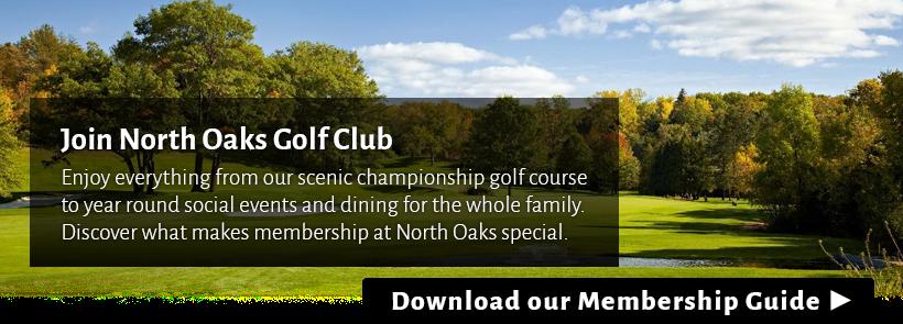 North Oaks Golf Course Membership