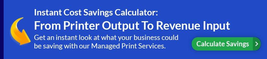Printer Cost Savings Calculator