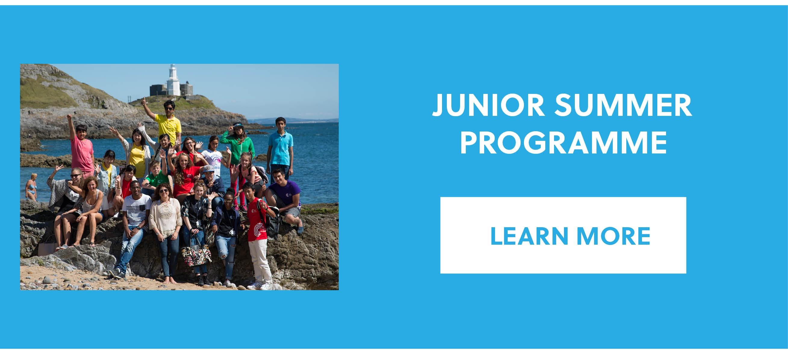 Junior Summer Programme in Colwyn Bay, Celtic English Academy