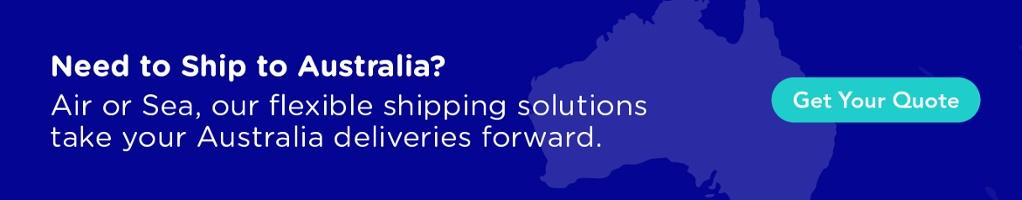 Need to Ship to Australia? Sea, Air or Land, we've got Freight that takes you forward