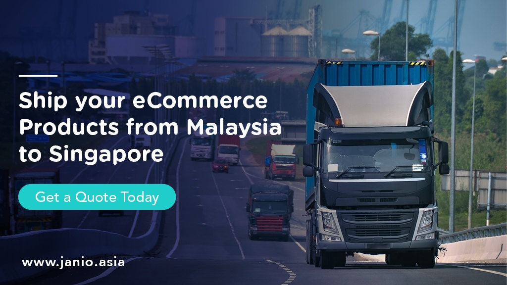 Trucks entering the causeway between Johor, Malaysia and Singapore - Ship your eCommerce Products from Malaysia to Singapore Janio