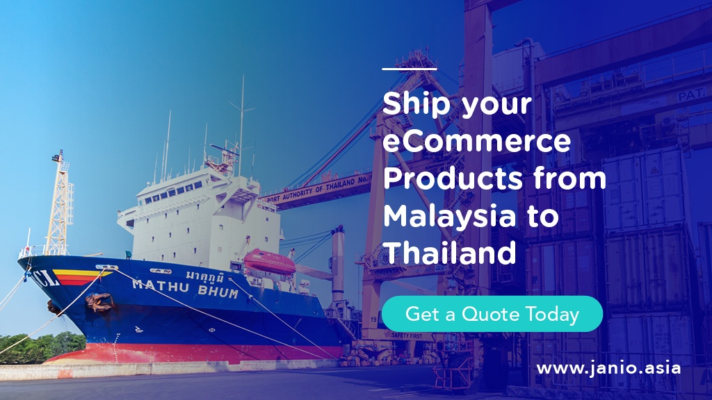 A ship docked at a port in Thailand - Ship your eCommerce Products from Malaysia to Thailand
