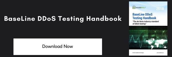 Get The BaseLine DDoS Testing Handbook