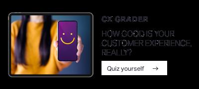 CX Grader - standard CTA