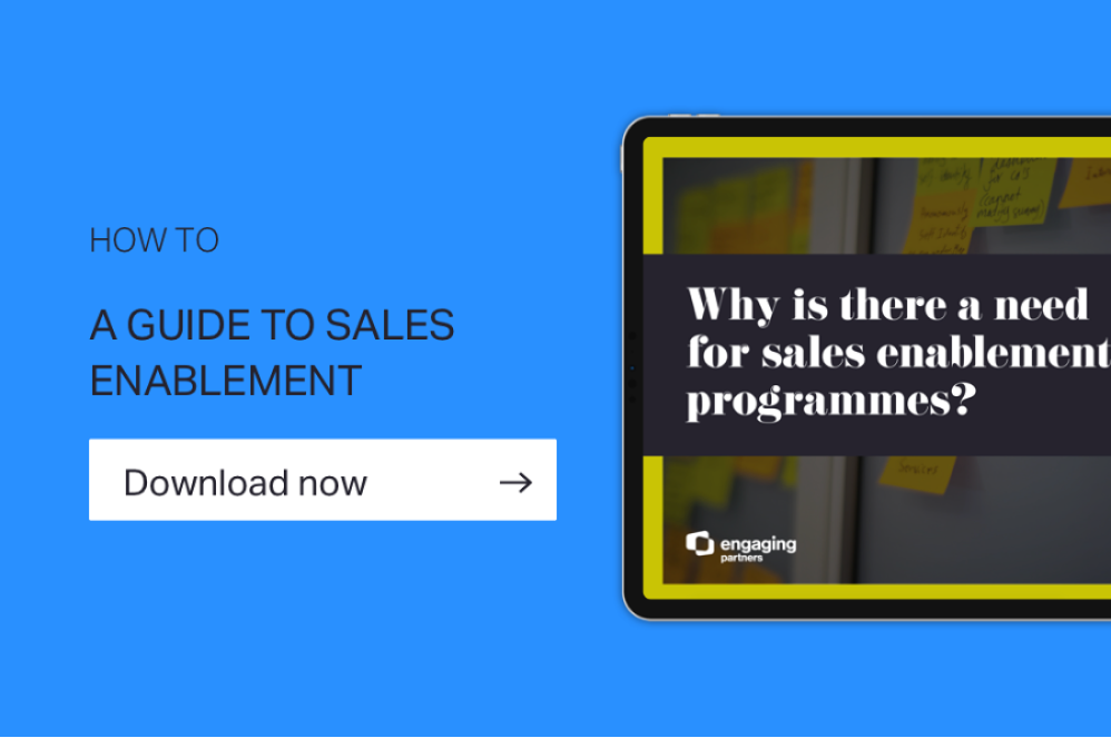 How to A GUIDE TO Sales enablement