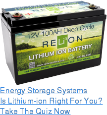 Energy Storage Systems Is Lithium-ion Right For You? Take The Quiz Now