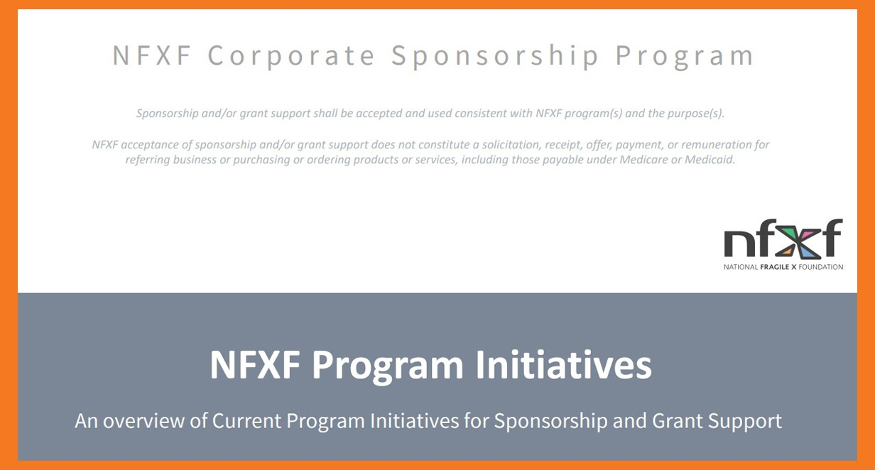 title slide - NFXF Program Initiatives