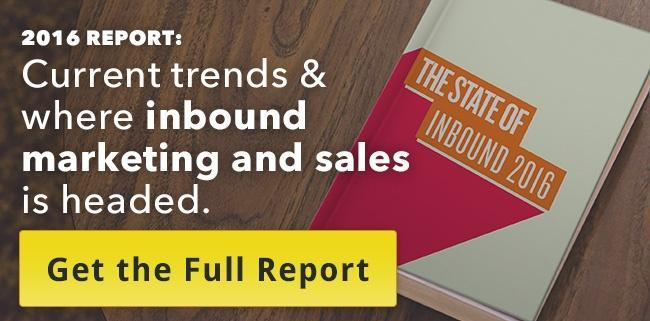 HubSpot's State of Inbound 2016 Report