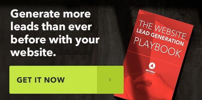 The Website Lead Generation Playbook from Elevator Agency