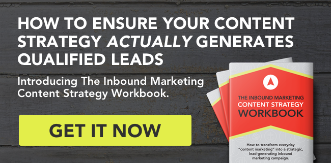 The Inbound Marketing Content Strategy Workbook